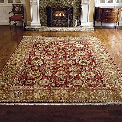 ziegler mahal fronds wool area rugs - Area Carpets