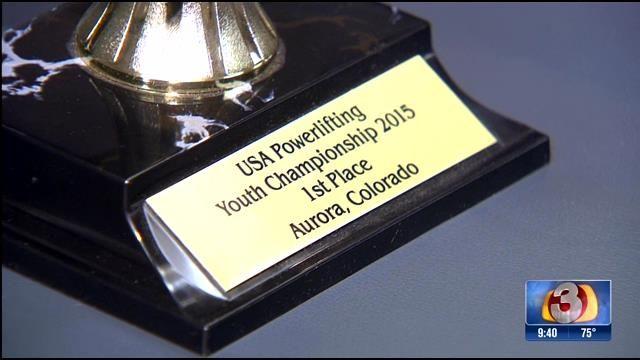 Champion Valley teen breaks powerlifting records - azfamily.com 3TV   Phoenix Breaking News, Weather, Sport