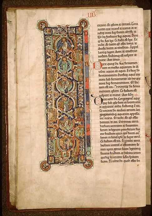 Paris – Bibliothèque Sainte-Geneviève – ms. 8 Folio 7v
