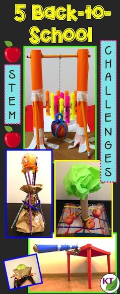 Back-to-School STEM challenges are a great way to build community, establish procedures, and get to know how your kids tick! Plus, they're a great intro to forces and interactions and Newton's three laws of motion, which are part of 3rd, 5th grade and middle school NGSS standards! (3PS2-1, 5PS2-1, MS-PS2-1, and MS-PS2-2).