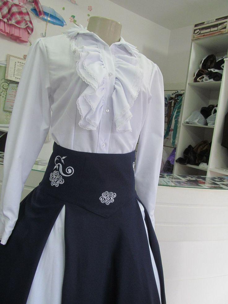 Saia De Prenda Com Camisa Modelo Jéssica - R$ 290,00 no MercadoLivre