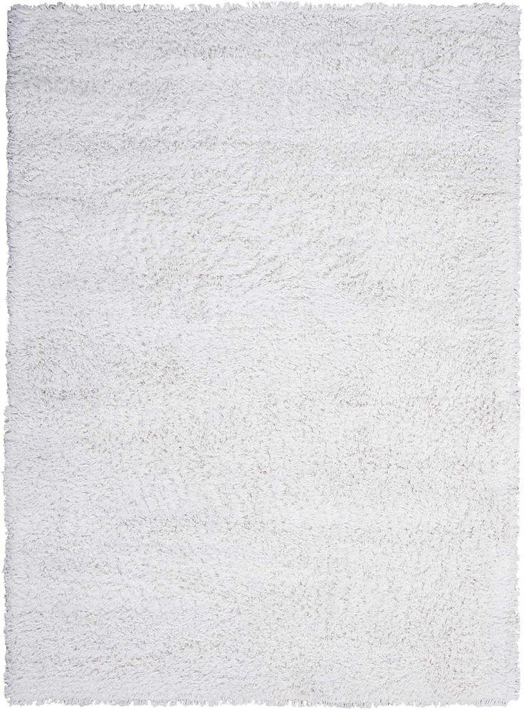 Nourison Splendor White Shag Area Rug