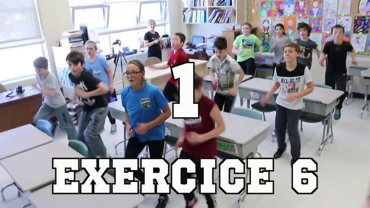 Tabata en classe (vidéo 2 de 3)