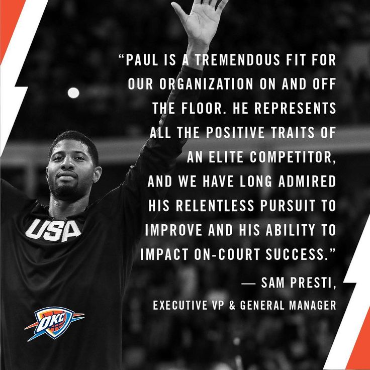 Thunder Makes a Splash by Trading for Two-Way Star Paul George   Oklahoma City Thunder