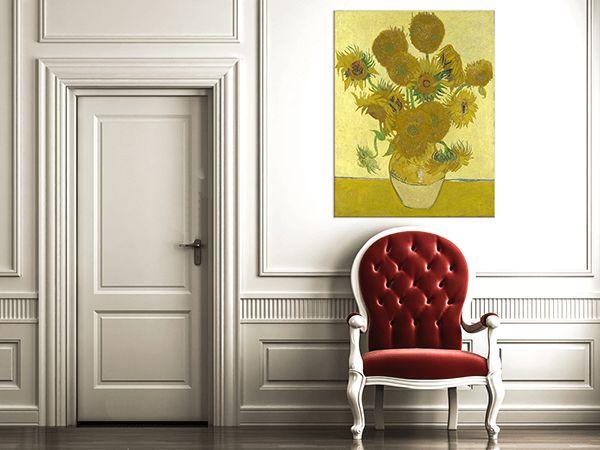 Słoneczniki – Vincent van Gogh - 10 Najbardziej Znanych Obrazów - Fedkolor.pl