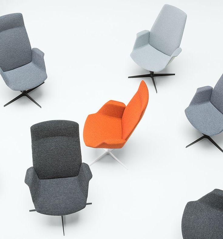 Zenith Interiors: UNO Guest Chair 4 Star on Castors
