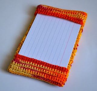 index card holderCrafts Ideas, Feelings Better, Crochet Dynamite, Xo Jaime, Jaime Hooray, Index Cards Holders, Crochet Colleges Bags, Crochet Teachers, Crochet Pattern