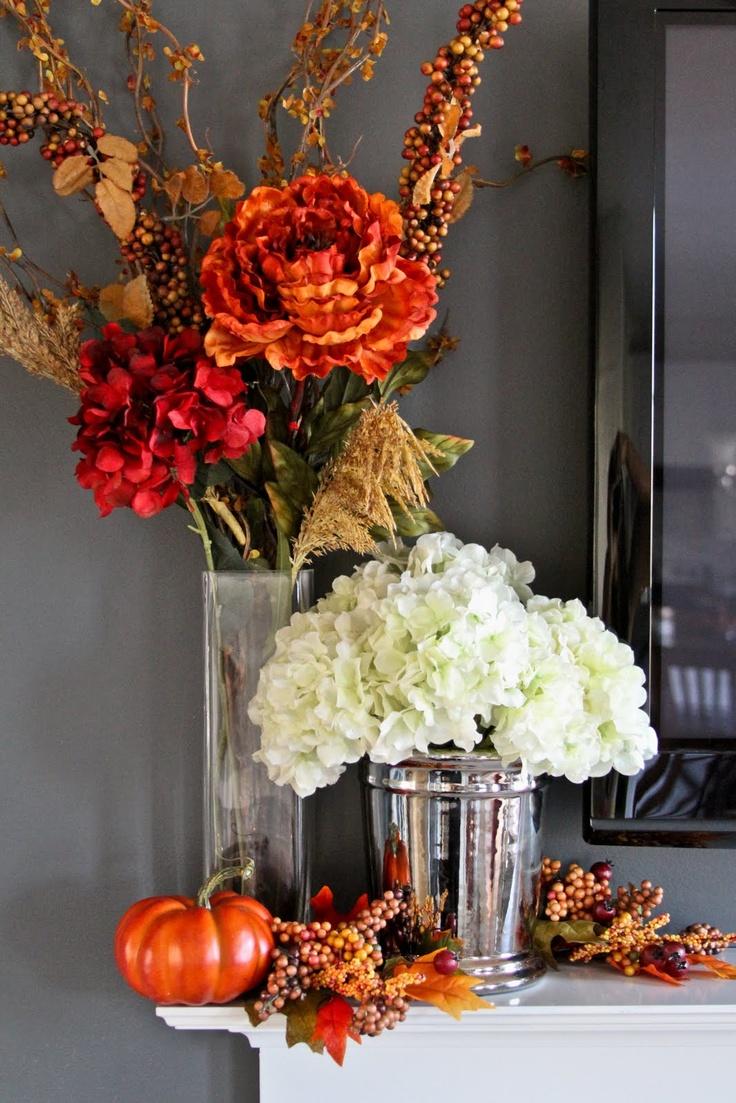 20 best Fall Centerpieces images on Pinterest   Floral arrangements ...