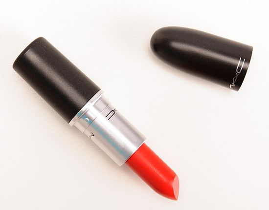 MAC Lady Danger Lipstick! This is a matte red lipstick with an orange undertone. This is def. on my top 5 fave list. So beautiful!