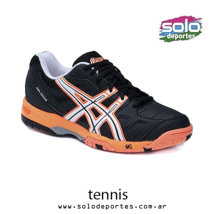 Gel Game 4 Negro/Blanco/Naranja Marca: Asics 130010606750239 $ 760,00