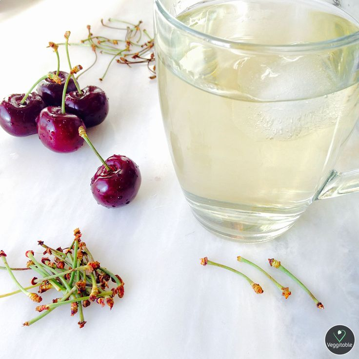 Chá de Pé de Cereja   Cherry Stem Tea