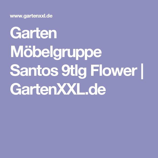 Garten Möbelgruppe Santos 9tlg Flower | GartenXXL.de