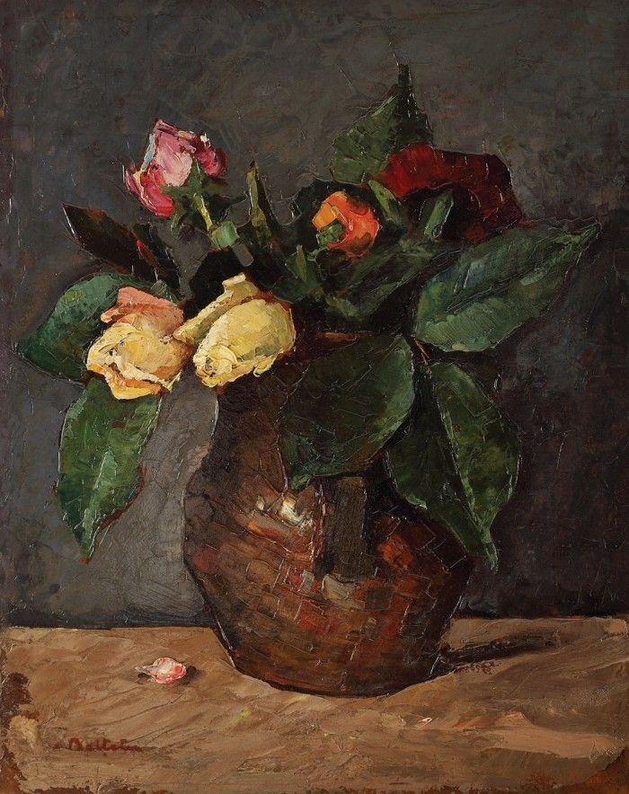 Adam Bălțatu (1889-1979) Trandafiri în ulcică / Pot with roses