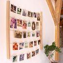 Waslijn met foto's