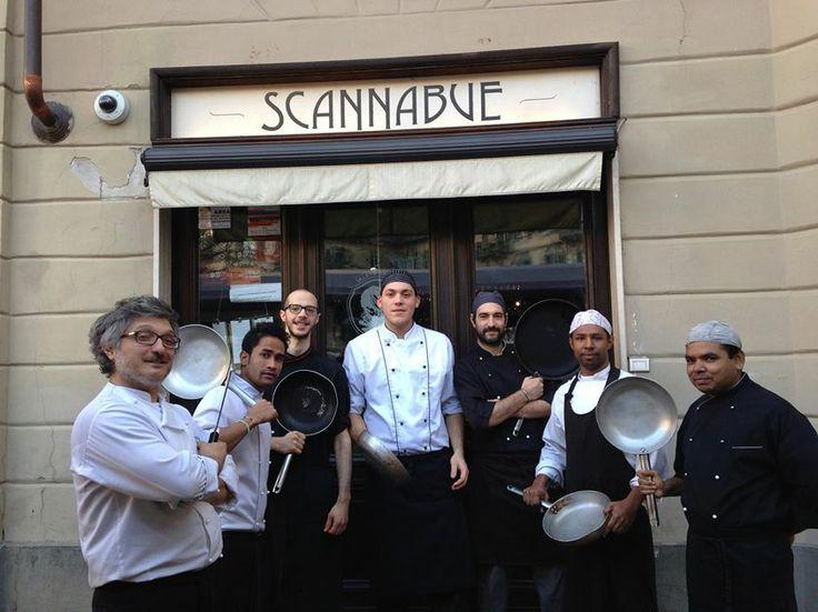 Scannabue Torino LO staff