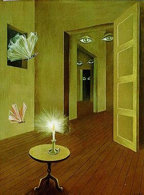 lately. (Insomnia, 1947 Remedios Varo)