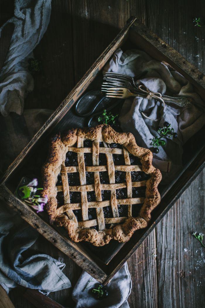 Huckleberry Pie by Eva Kosmas Flores | Adventures in Cooking