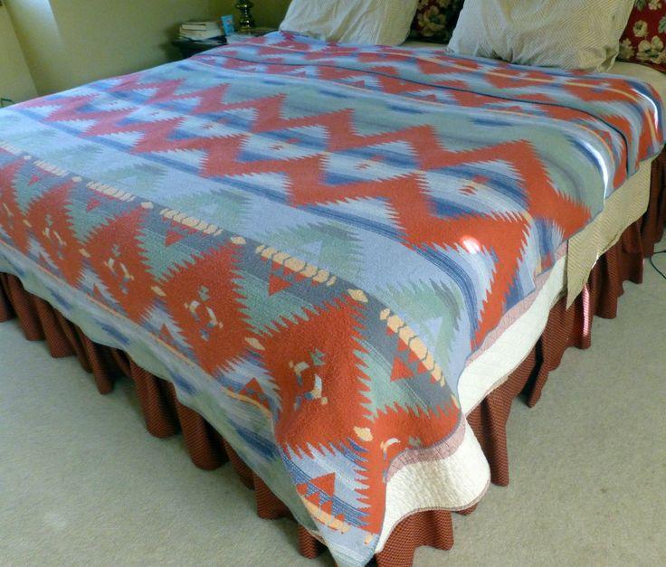 Ralph Lauren Indian Southwest Blanket Rio Grande Pattern