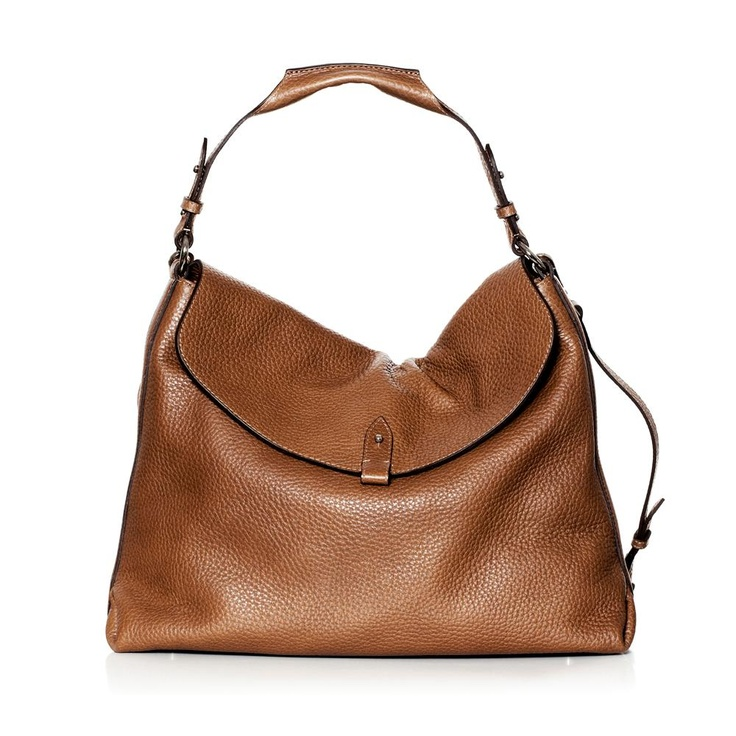 DECADENT Copenhagen - Soft shoulder bag Cognac