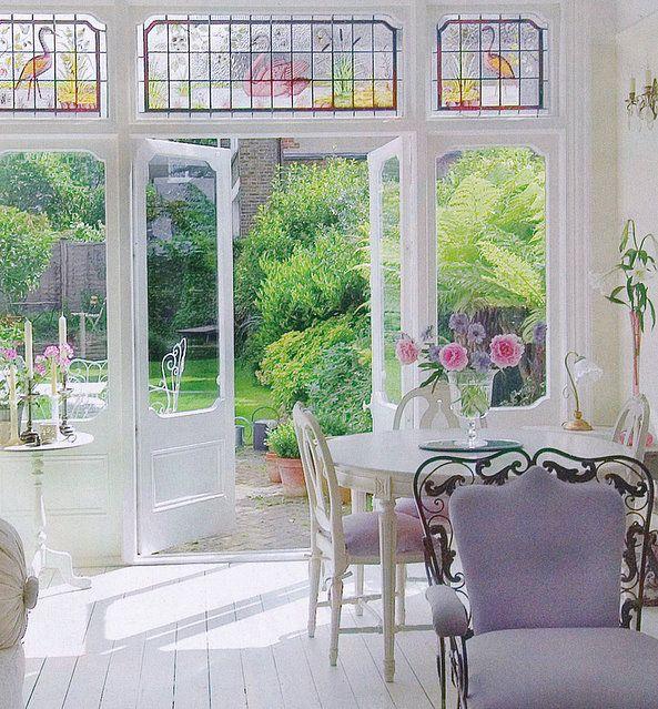 .Transom Windows, The Doors, Sunrooms, Interiors, Design Bedrooms, Breakfast Room, Lead Glasses, Sun Room, Stained Glasses