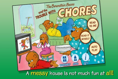 When Mama Bear decides to avoid doing her chores as well, the mess builds up... and up! The Bear family soon learns that living in a messy house is not much fun at all!