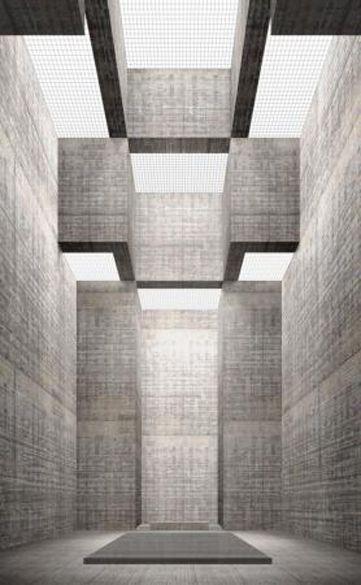 Simon Ungers  Basilica uit de serie Zeven sacrale ruimten