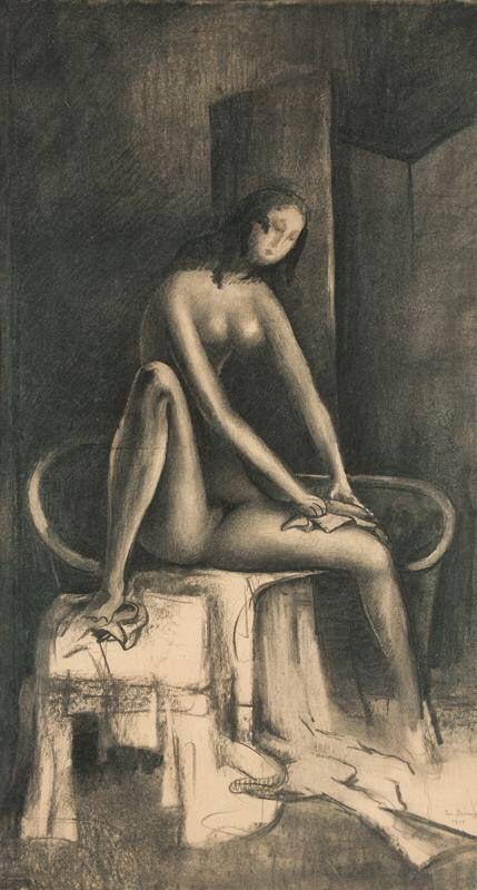 After Bath, 1919 - Jan Zrzavy