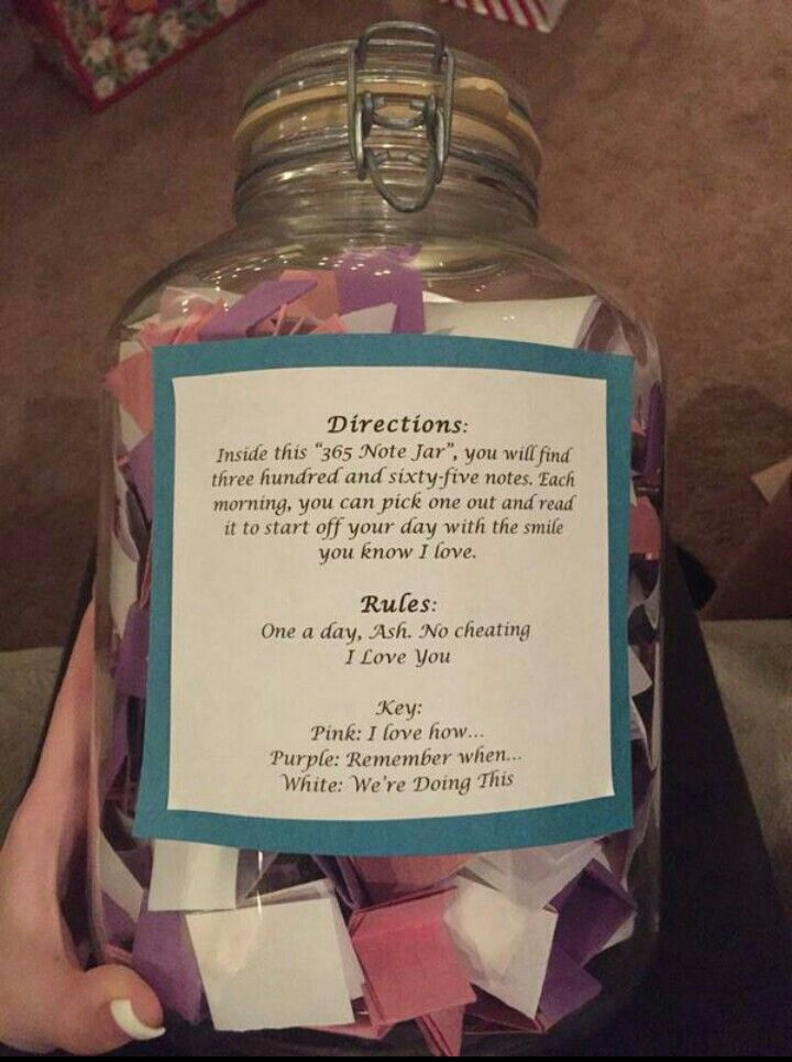 Love this idea. Great for a first anniversary.