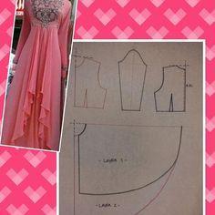 #pecahpola #polabaju #poladress #dresspattern #fashionpattern #pattern #bajupestamuslim #bajukondangan #pomobaki