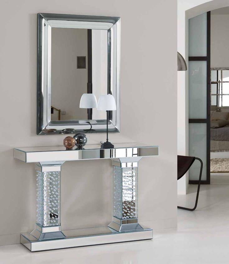 20 mejores im genes de espejos de dise o en pinterest for Espejos rectangulares modernos