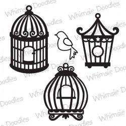 Set of Birdcages - SVG Freebie