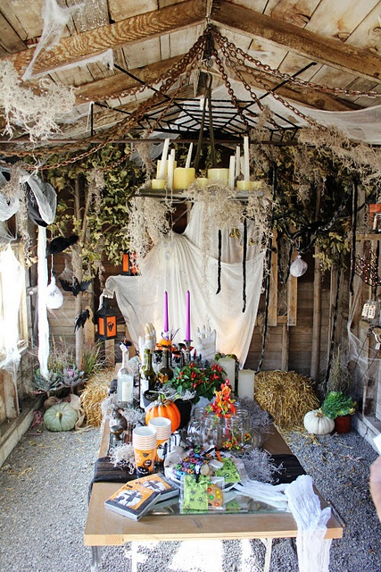 61 best images about Spooky Elegant Halloween Decor on