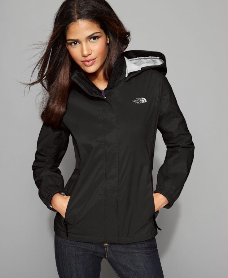 The North Face - Lightweight Rain Jacket - Black