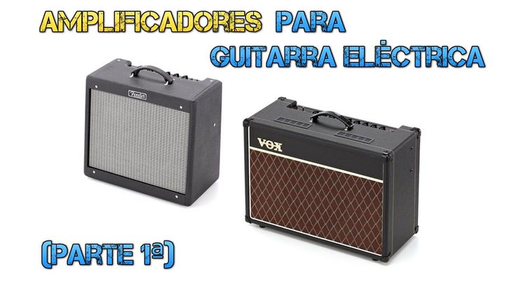 Amplificadores Guitarra Eléctrica (parte 1/7) - Fender Blues Junior III ...