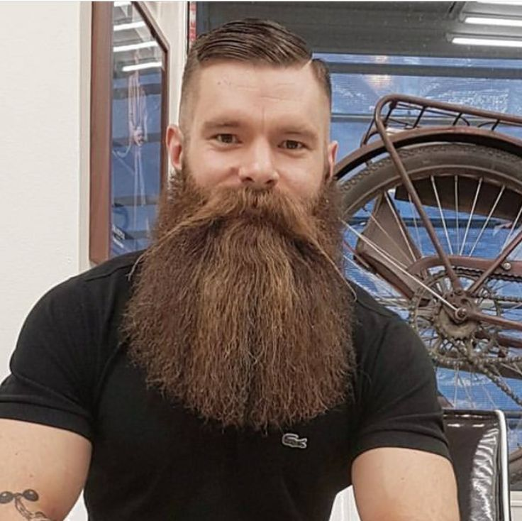 This Dudes Sports An Awesome Beard.