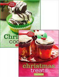 Christmas Cookies & Treats  http://mirknig.com/knigi/kulinariya/1181754091-christmas-cookies-treats.html  Рождественское наслаждение & Рождественское печенье. Betty Crocker дает десятки рецептов, которые идеально подходят для проведения праздничного вечера. Вы найдете вкусные закуски и блюда, хлеб и пирожные, замечательные десерты, изобилие печенья и экстра-радостные коктейли. Праздновать Рождество с вкусной домашней выпечкой печенья от Betty Crocker.