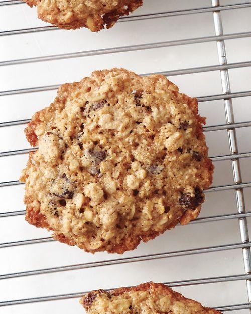 Gluten-Free Oatmeal Cookies - Martha Stewart Recipes My favorite oatmeal cookies! YUMM!