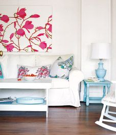 Interior: Comfy guest cottage