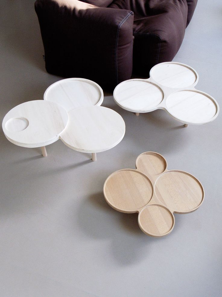 German Designer Johannes Fuchs Has Created A Series Of Side Tables Called  The Tray Family.