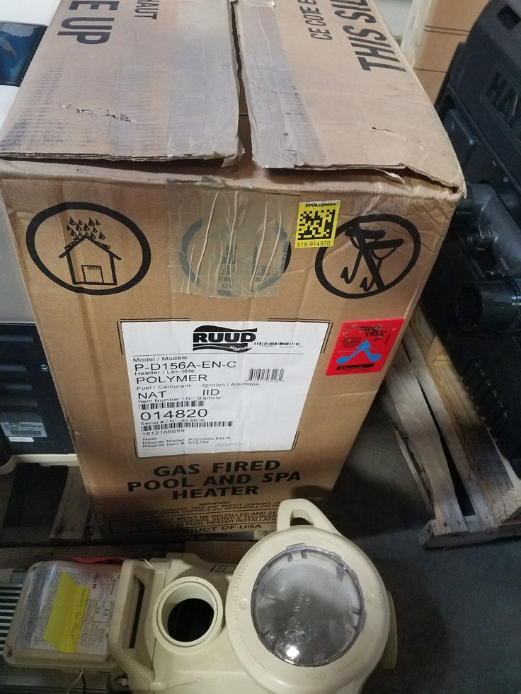 Raypak/RUUD AB Pool / Spa Heater  150000 BTU NAT GAS - P-D156A-EN-C | 014820