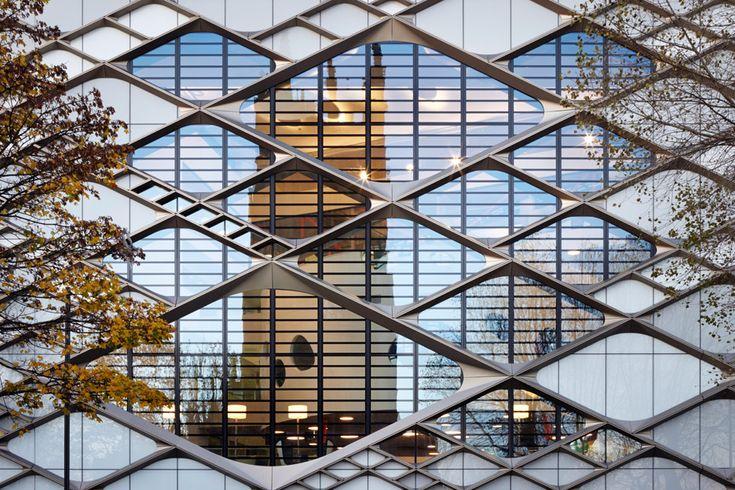Twelve Architects applies diamond-patterned facade to Sheffield university building