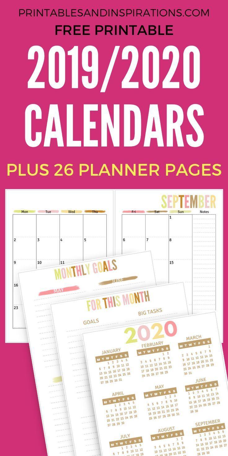 free teacher planner printable 2019
