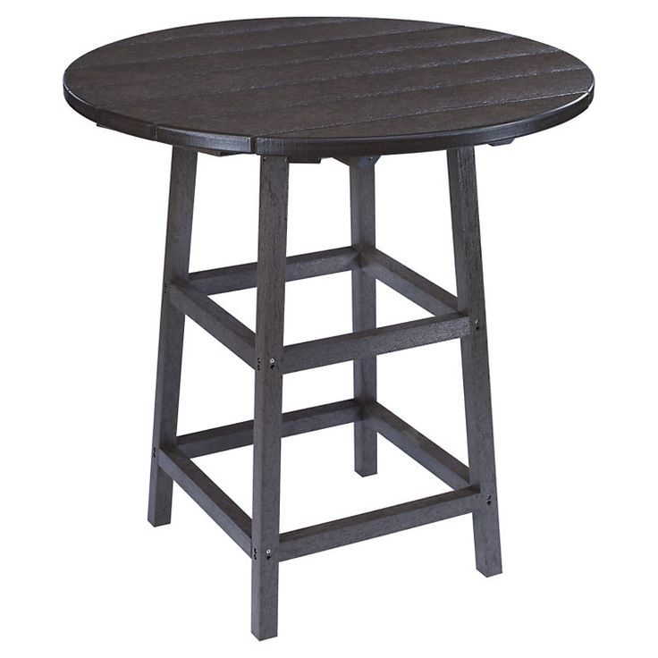 "32"" Round Pub Height Table with Legs 