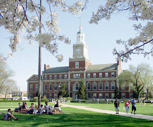 Springtime on the Yard. Howard University