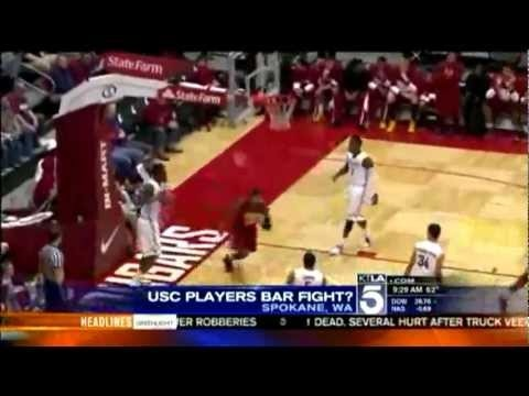 http://www.facebook.com/hoodnews247    USC Basketball Players Reportedly Involved in Brawl