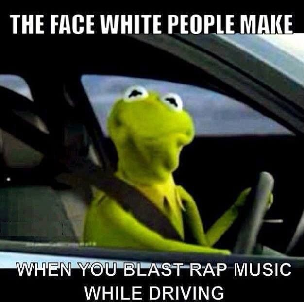 The look on Kermit's face is just funny. Lol