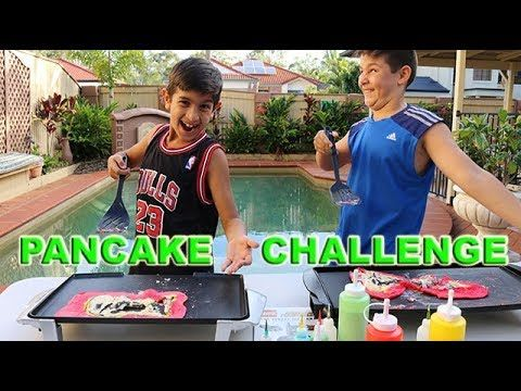 Pancake challenge 1.0 The Garage TV - YouTube
