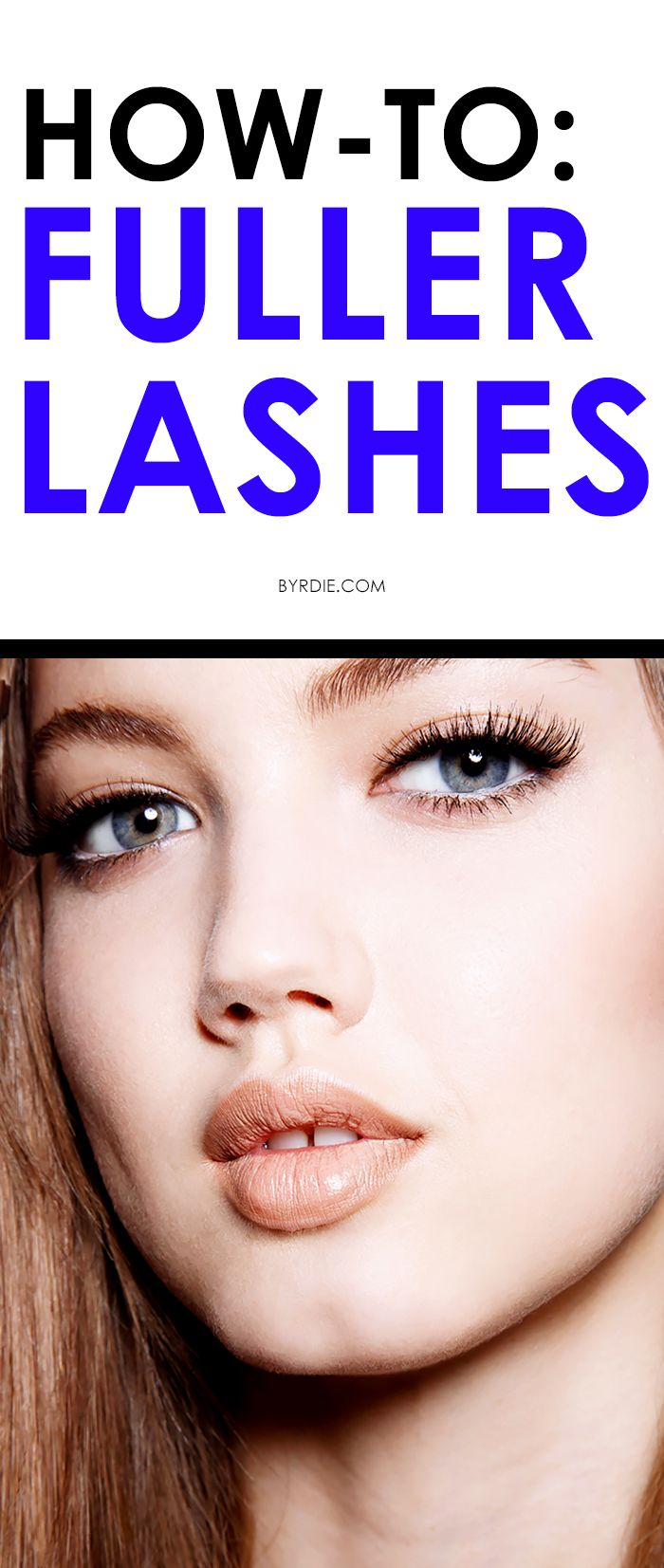 How to get long, lush, look-at-me lashes without falsies or eyelash extensions.