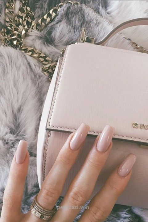 Kylie Jenner's Nude Talons – Nail Art And Design Ideas To Try, Courtesy Of The A-List
