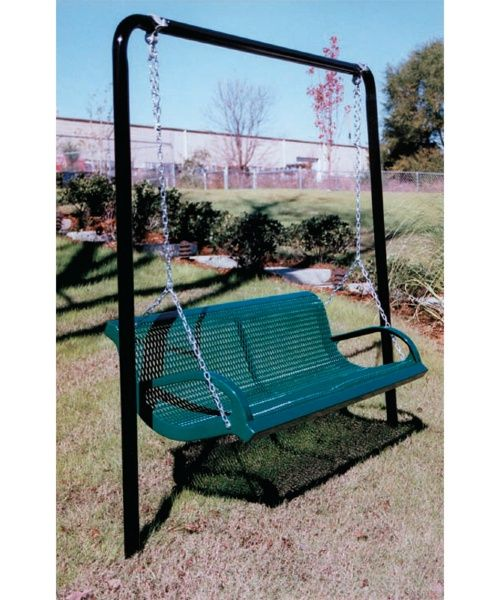 Metal Porch Swing Frame Green. 10 Awesome Metal Porch Swing Frame Ideas Part 40